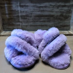 7a3ff87085188 Xhilaration Shoes | Cute Womens Niah Faux Fur Slippers Nwt | Poshmark